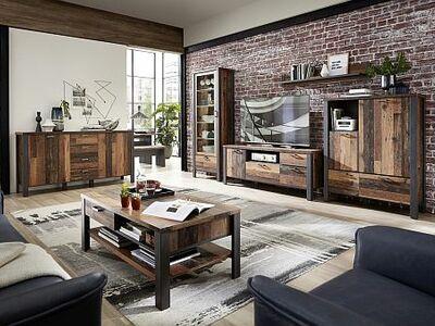 <strong>Obývací stěny</strong> imitace dekorů / solitéry