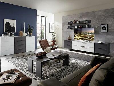 <strong>Obývací stěny </strong> lak, vysoký lesk / solitéry