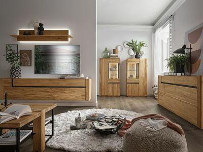 <strong>Obývací stěny </strong>masiv, dýha, kombinace / solitéry