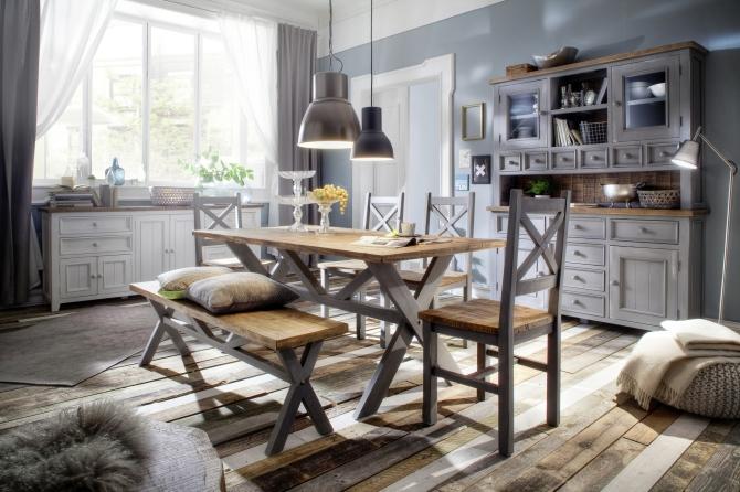 Obývací a jídelní sestavy ANTIC grey