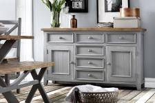 Obývací a jídelní nábytek ANTIC grey_komoda typ 01 v interieru_obr. 9
