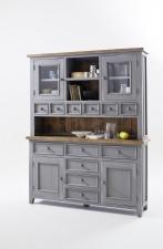 Obývací a jídelní nábytek ANTIC grey_kombinovaná vitrina typ 15_obr. 10