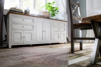 Obývací a jídelní sestavy ANTIC white