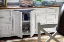 Obývací a jídelní nábytek ANTIC white_komoda typ 03_interier_detail_obr. 2