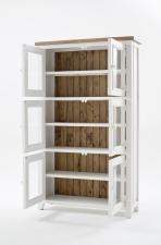 Obývací a jídelní nábytek ANTIC white_vitrína typ 12_otevřená_obr. 7