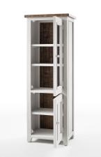 Obývací a jídelní nábytek ANTIC white_vitrína pravá typ 11_otevřená_obr. 15