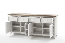 Obývací a jídelní nábytek ANTIC white_komoda typ 02_otevřená_obr. 19