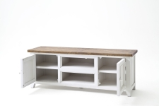Obývací a jídelní nábytek ANTIC white_TV stůl typ 30_otevřený_obr. 23