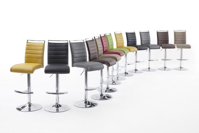 Barová židle VENTURA I. chrom