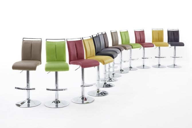 Barová židle VENTURA II. chrom