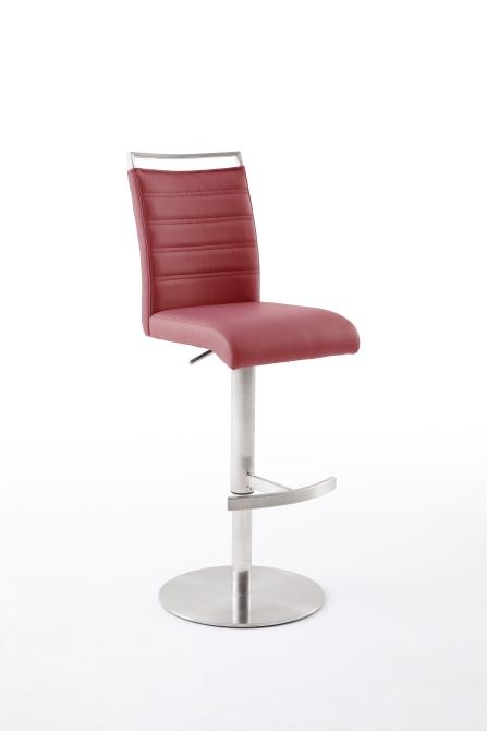 Barová židle VENTURA III. nerez