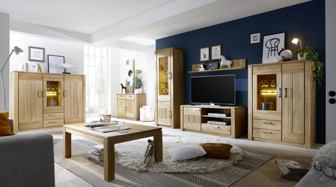 Obývací stěna + highboard CAPENSA
