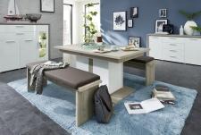 Obývací / jídelní nábytek CARIA_jídelní stůl 29 E5 HW 01 + 2x lavice 29 E5 HW 03 + typy 20 + 22_obr. 13