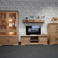 Obývací sestava AMBRA, celomasivní dubový nábytek