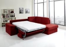 Sedací souprava COMFORT SLEEP_sofa 142 cm s funkcí na spaní + ottoman pravý_v látce Kati bordeaux (skup. 11)_obr. 3