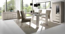 Obývací / jídelní nábytek CONTE II_volná sestava elementů - jídelna_jilm světlý imitace_obr. 6