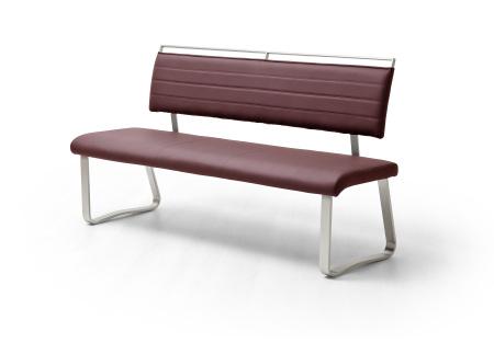 Jídelní lavice I. COSTA_bordó_obr. 4