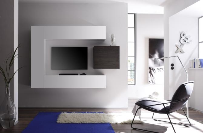 CUBATO - obývací stěna