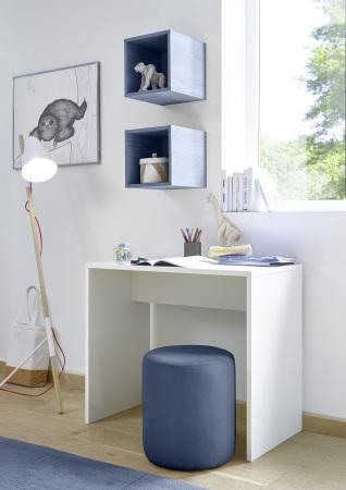 Psací stůl ESPERO 90 cm_1x sada stěnových regálů_typy 671702-900_624602-311_obr. 20