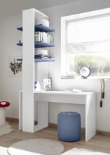 Psací stůl ESPERO 138 cm_regál se 3-mi policemi, v. 230 cm_typy 671702-1380_674602-53_obr. 22