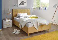Postel ESPERO žlutá čtverečkovaná120 cm_ noční stolek_typy 624304-52_674302-01_obr. 10