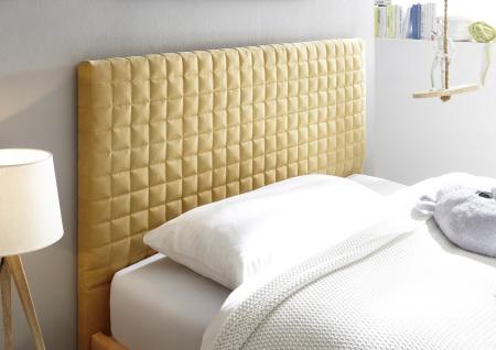 Čalouněná postel ESPERO_detail čtverečkovaného hlavového dílu_obr. 11