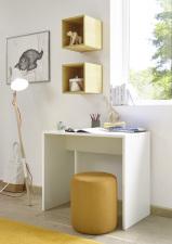 Psací stůl ESPERO 90 cm_1x sada stěnových regálů_typy v_obr. 19
