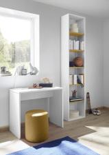 Psací stůl ESPERO 90 cm_samostatně stojící regál s 5-ti policemi, v. 230 cm_typy 671702-900_674302-45_obr. 20