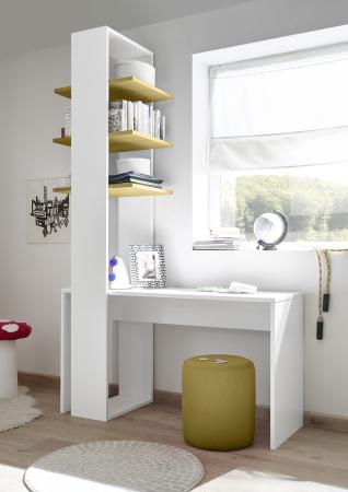 Psací stůl ESPERO 138 cm_regál s 3 policemi, v. 230 cm_typy 671702-1380_674302-53_obr. 21