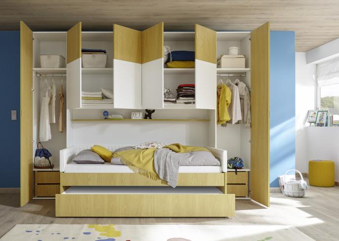 Dětský a studenstký nábytek ESPERO gelb (žlutá varianta)