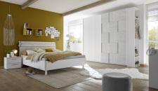 Dětský a studentský nábytek ESPERO (šedá varianta)_šatní skříň s posuvnými dveřmi (3D-optika) 243 cm_postel 160 cm_noční stolek_regál na šaty s 2 policemi a tyčí na ramínka, v. 230 cm_obr. 3