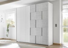 Šatní skříň s posuvnými dveřmi ESPERO (3D-optika) 243x230 cm_typ 671705-243-A_obr. 10