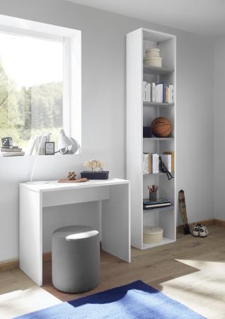 Psací stůl ESPERO 90 cm_samostatně stojící regál s 5-ti policemi, v. 230 cm_typy 671702-900_674502-45 _obr. 19