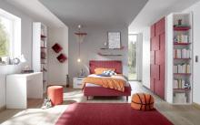 Dětský a studenstký nábytek ESPERO rot (červená varianta)