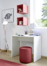 Psací stůl ESPERO 90 cm_1x sada stěnových regálů_typy 671702-900_626602-311_obr. 19