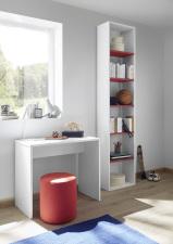 Psací stůl ESPERO 90 cm_samostatně stojící regál s 5-ti policemi, v. 230 cm_typy 671702-900_676602-45_obr. 20