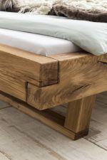 Robustní masivní dubová postel JANE_detail provedení a materiálu_obr. 2