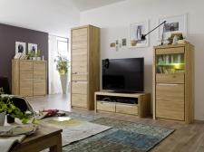 Celomasivní nábytek FLORENZ_obývací stěna 405233 + typy 07 a 50