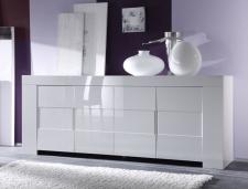 Eos_Sideboard 209065-08 bílý vysoký lesk