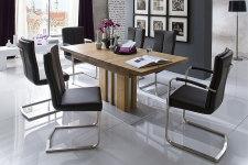 Jídelní židle MONDO a MONDO s područkami v interieru (2)