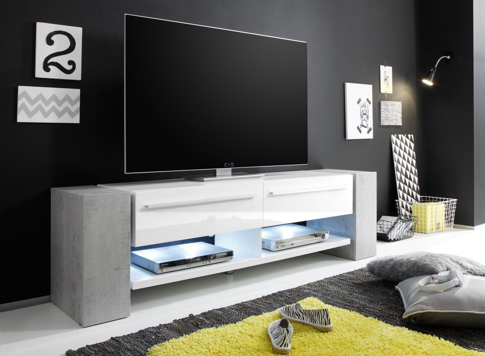 time media modern n bytek torrimex. Black Bedroom Furniture Sets. Home Design Ideas