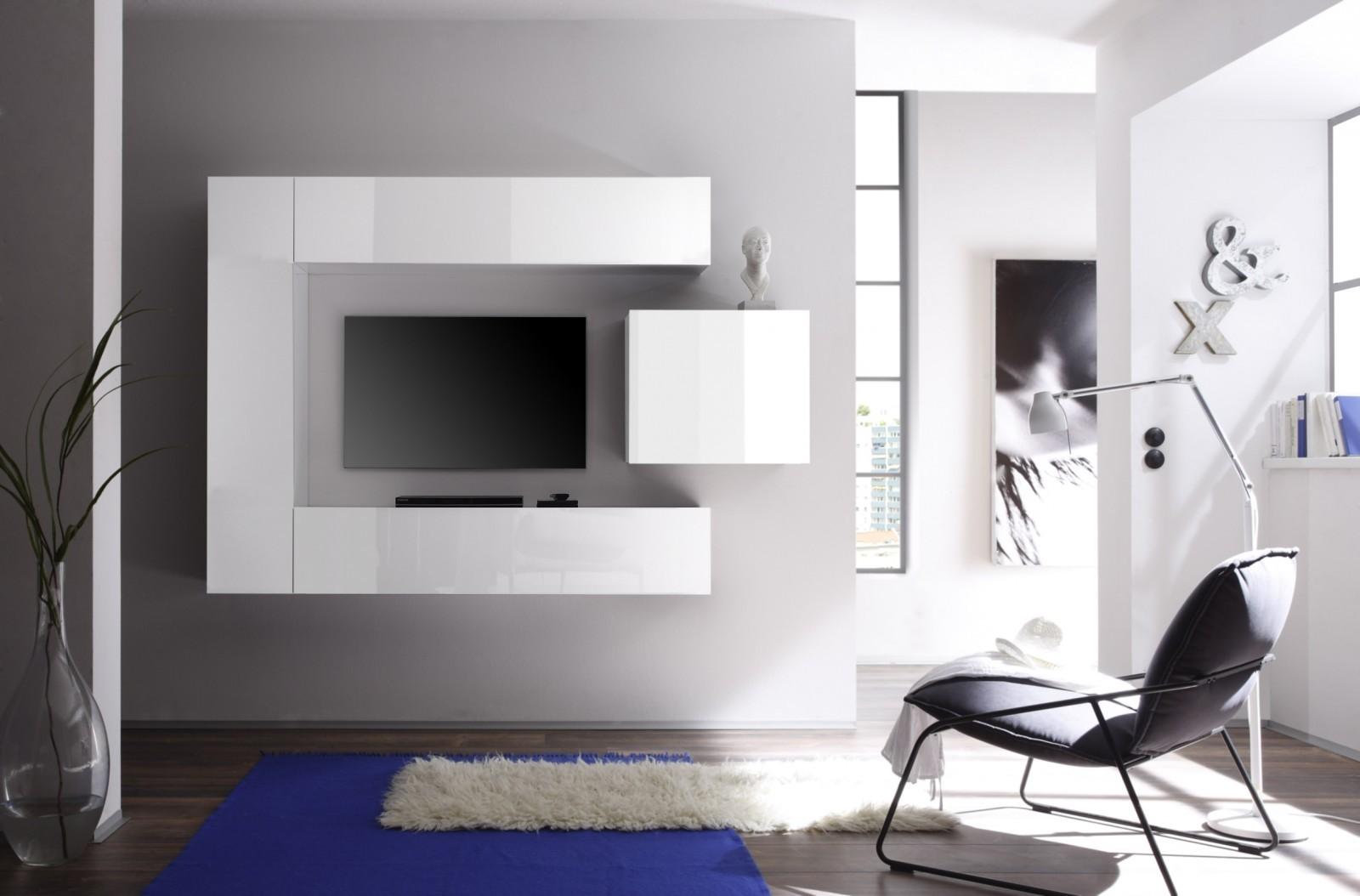 Meuble Tv Murale Meuble Tv Murale Design Ronna Mobilo Design  # Meuble Tv Mural Alinea