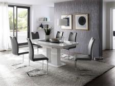 Jídelní židle KARIA šedá v interieru_obr. 2