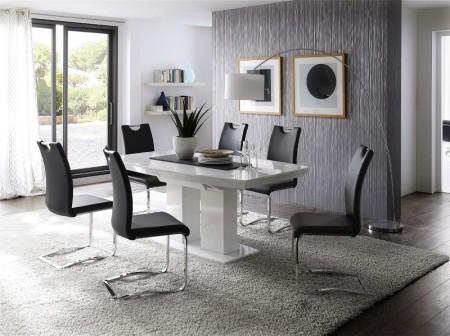 Jídelní židle KARIA černá v interieru_obr. 3