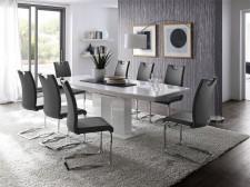 Jídelní židle KARIA šedá v interieru_obr. 4