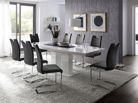 Jídelní židle KARIA černá v interieru_obr. 1