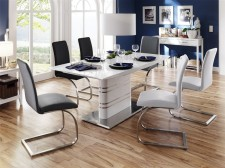 Jídelní židle MALAGA I + II v interieru_obr. 1