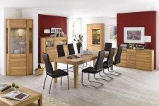 Jídelní židle NELA II. v interieru_mix s židlí NELA_černá_obr. 2
