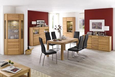 Jídelní židle NELA II. v interieru_mix s židlí NELA_černá_obr. 4