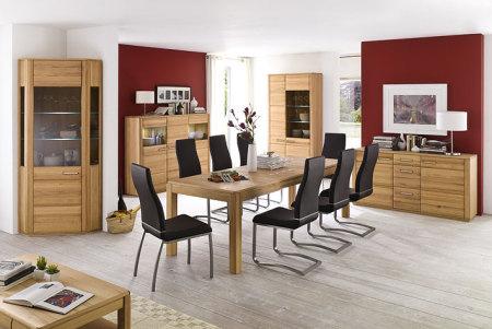 Jídelní židle NELA II. v interieru_mix s židlí NELA_černá_obr. 6